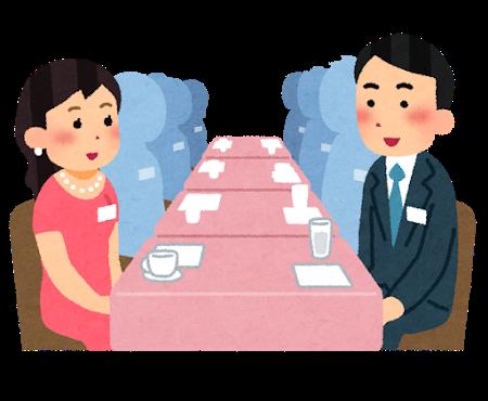 小規模な婚活パーティー