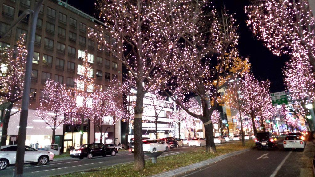 オトコン心斎橋会場の夜景
