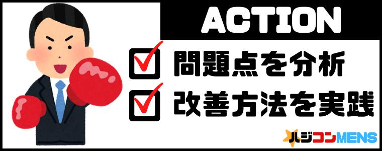 ACTION/改善してみよう
