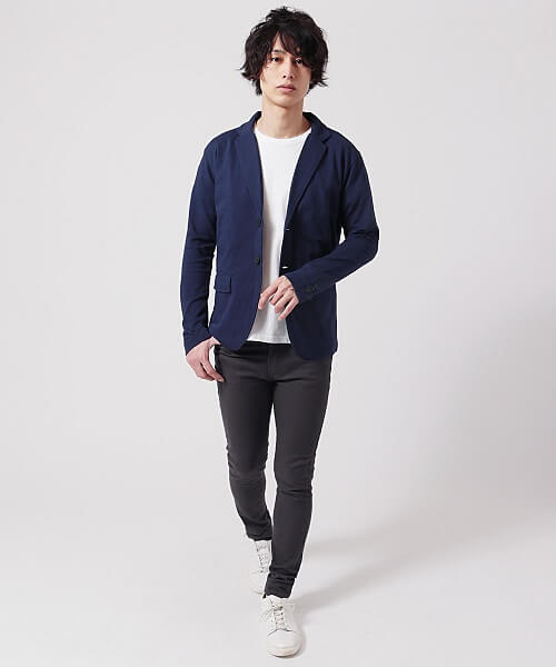 男性向け春の婚活服装ジャケット