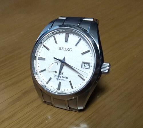 グランドセイコーの腕時計